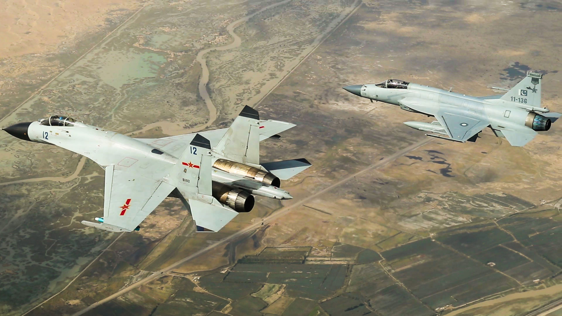 Chinese, Pakistan air forces conduct joint combat training in Xinjiang