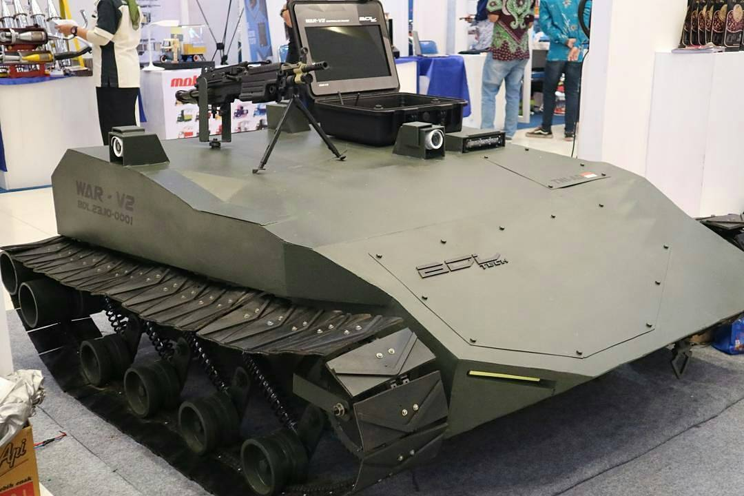 BDLtech unveils new WAR-V2 unmanned ground vehicle at Inovasi Indonesia Expo