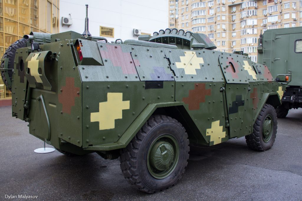 BRDM-NIK armored reconnaissance and patrol vehicle. Photo by Dylan Malyasov