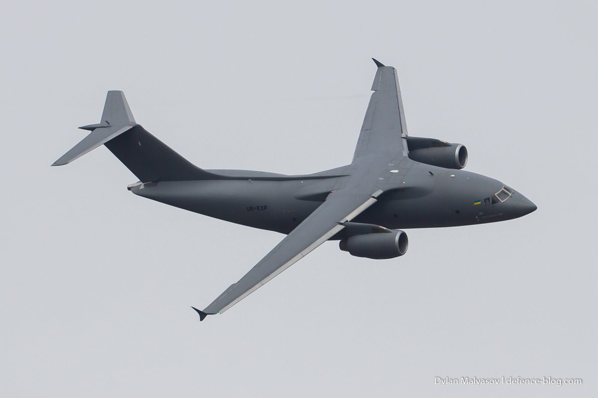 Ukraine sees opportunities for An-178 medium transport aircraft in Middle East