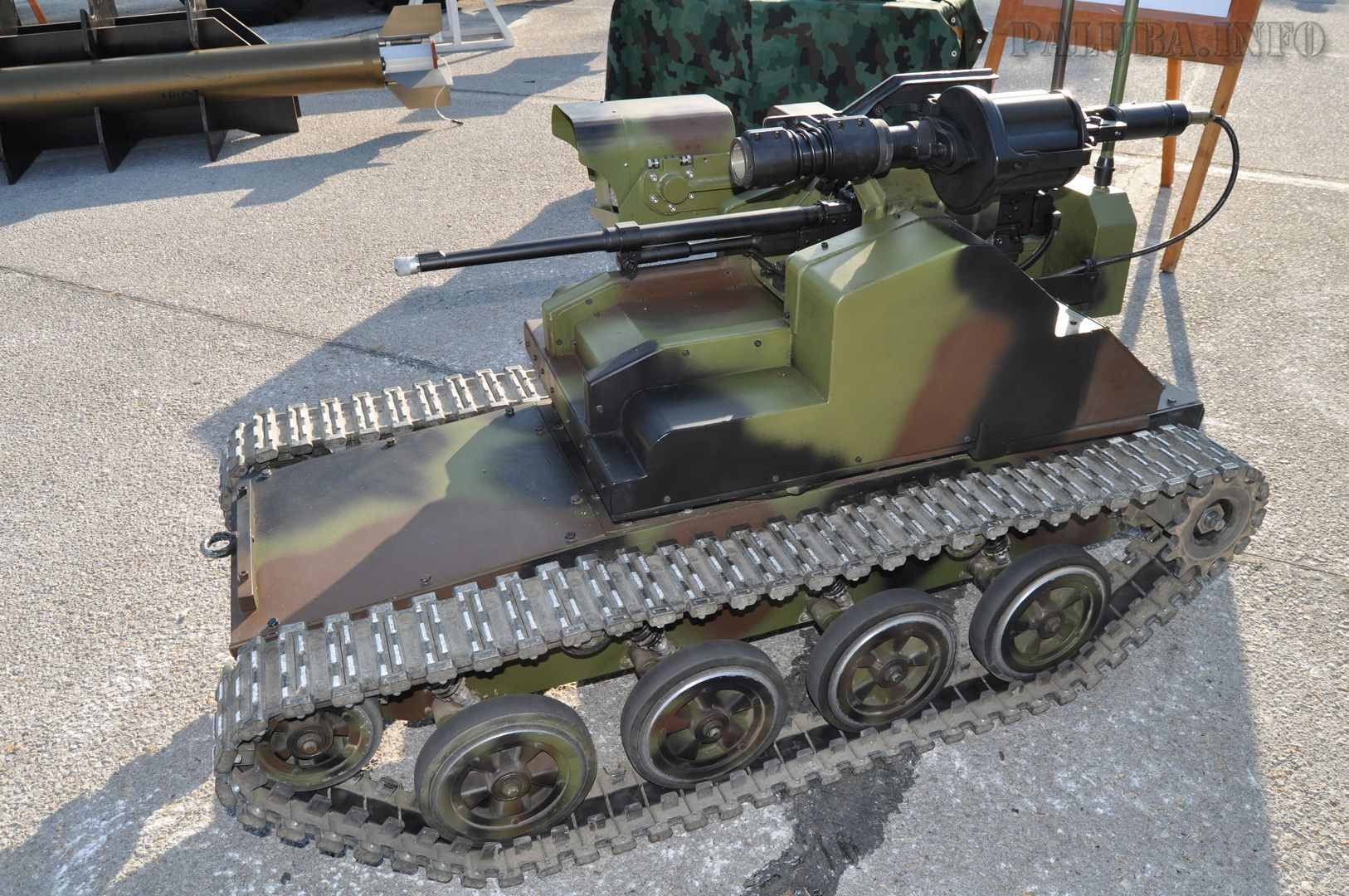 Serbia to launch mass production of new Milos unmanned ground vehicles