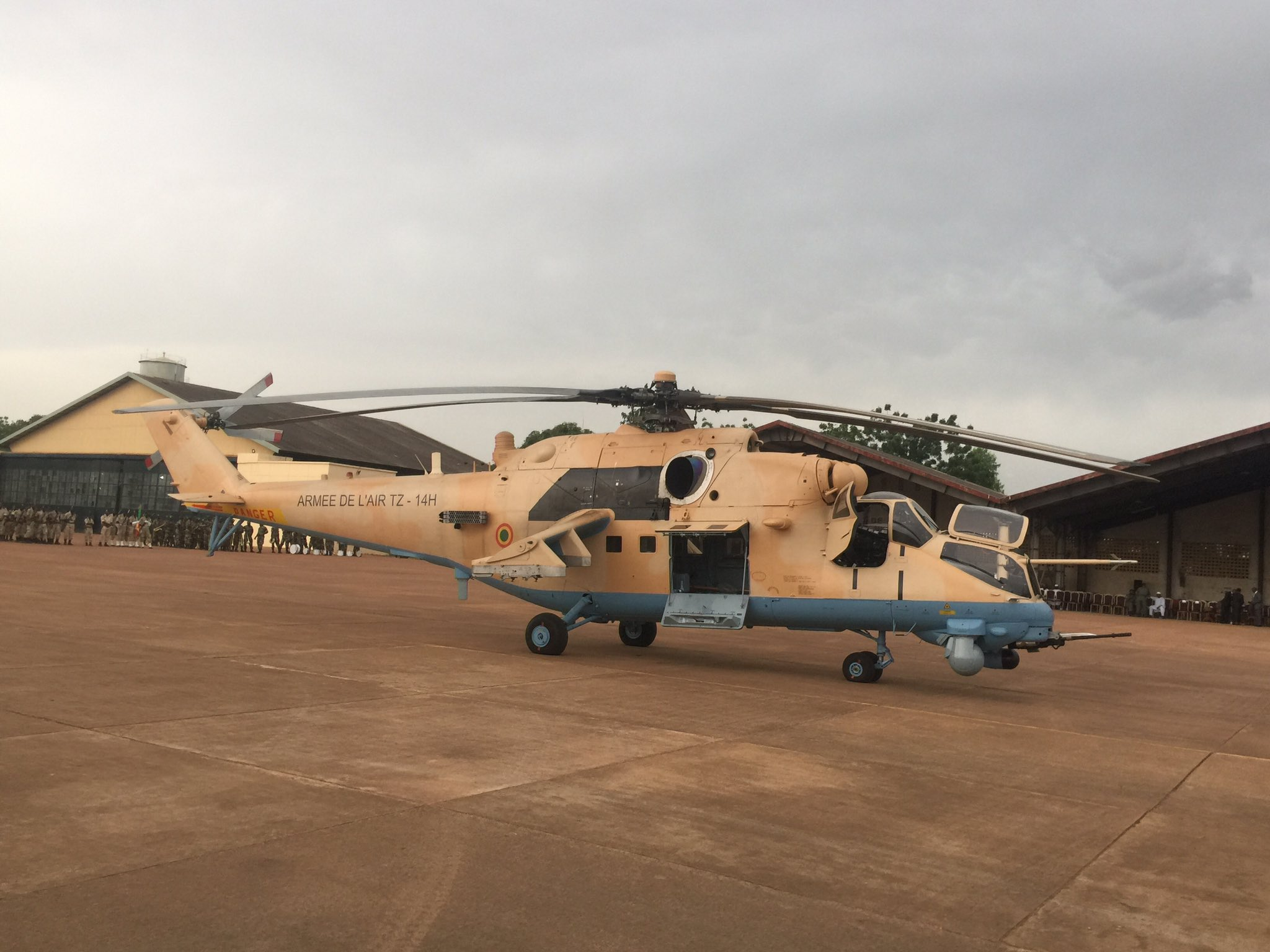 Russia delivers two Mi-35M helicopters to Mali