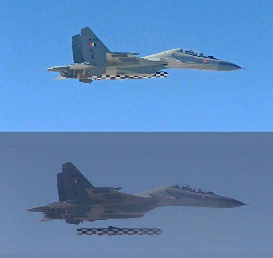 India successfully test fires Brahmos supersonic cruise missile from Su-30MKI fighter