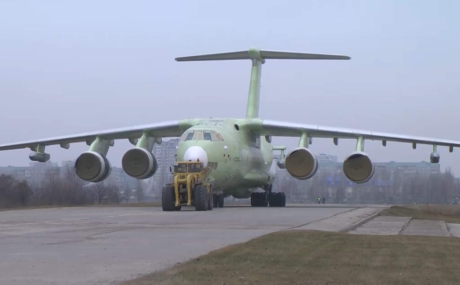 Russia rolls out first IL-78M-90A tanker aircraft