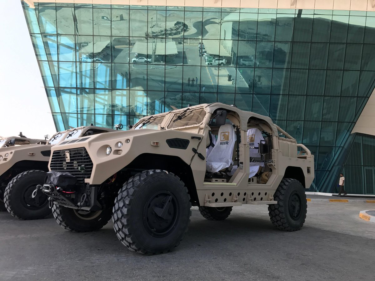 Nimr confirms the sale of special operations vehicles to ...