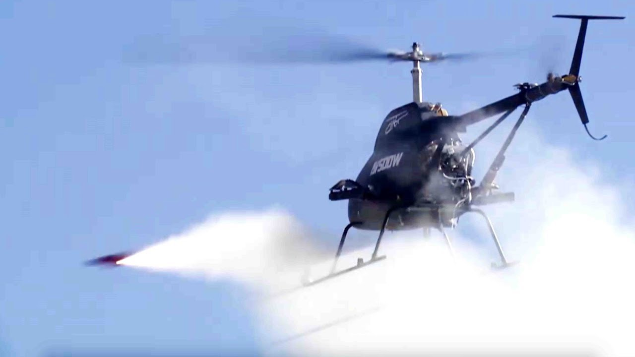New Chinese combat drone helicopters conducts firing test on Qinghai-Tibet Plateau
