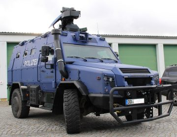 Rheinmetall transfers first of two Survivor R vehicles to the Saxony State Police
