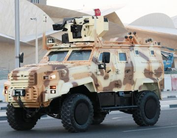 Qatar received batch of new Ejder Yalcin armoured vehicles from Turkey