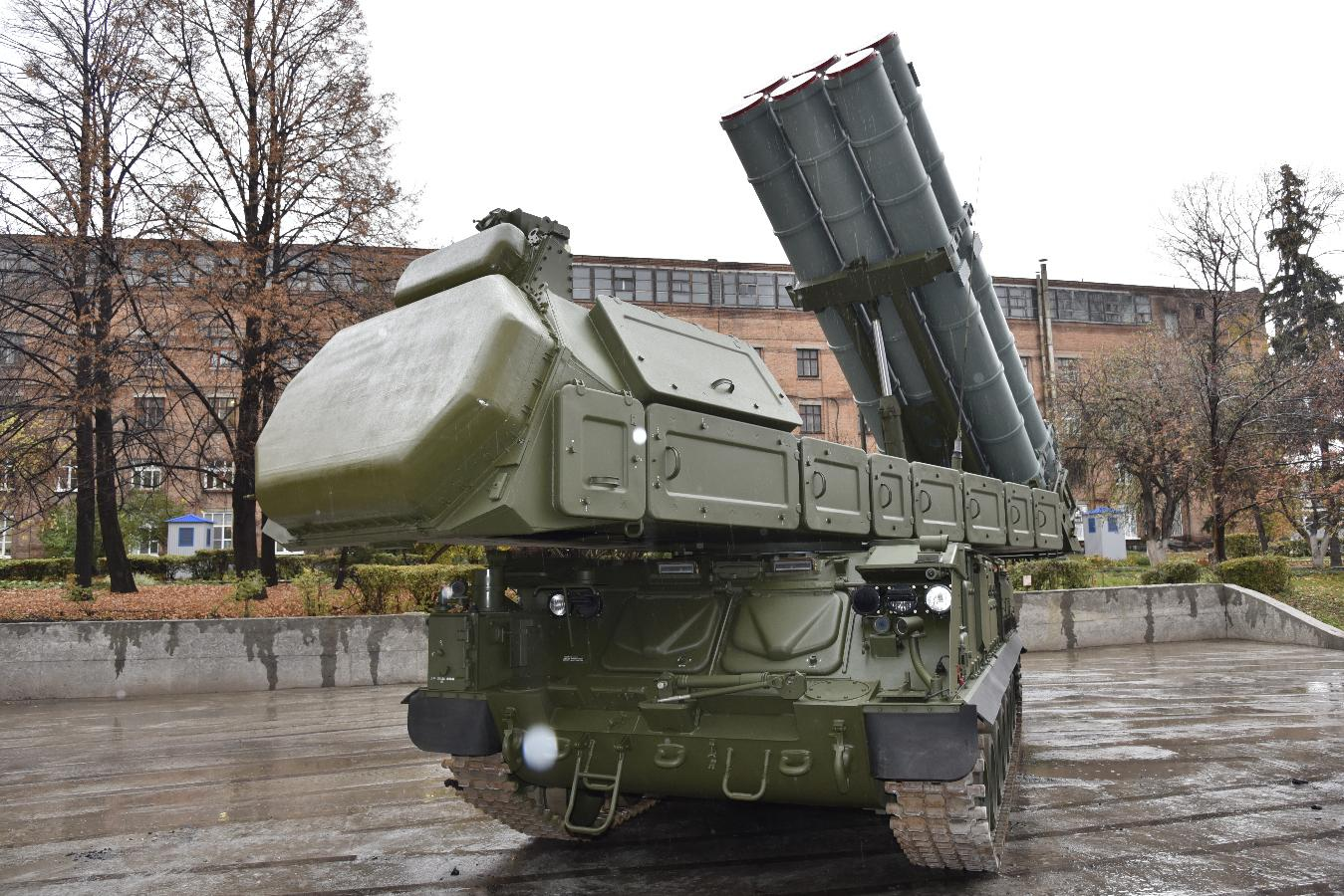 Russian anti-aircraft missile brigade in Kursk to receive new Buk-M3 systems