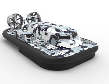 Russian Navy orders Manul combat hovercraft