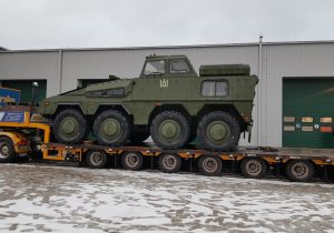 Lithuania received Boxer driving training vehicles