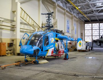 Ukrainian Naval Aviation receives Kamov Ka-226 multirole helicopter