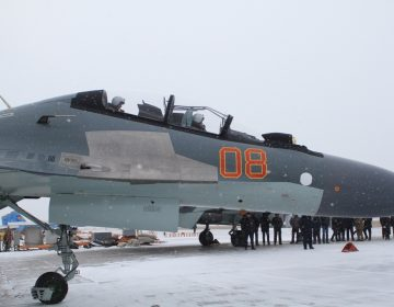 Kazakh Air Force receives new Su-30SM fighters from Russia