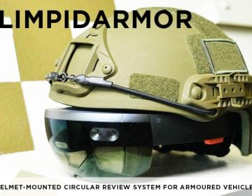 Ukraine is looking for partners to develop LimpidArmor Helmet-Mounted System