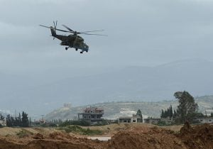 Russian military Mi-24 helicopter crashed in Syria