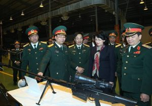 Vietnam unveiled new heavy sniper rifle produced under licence from Russia