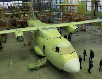 Russia makes progress on first locally built light military transport aircraft
