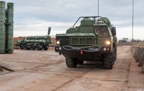 Photos: Russia deploys more S-400 air defence missile systems to Crimea