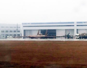Huge unmanned aerial vehicle spotted at Chinese production facility