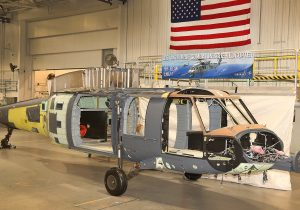 First Sikorsky HH-60W Combat Rescue Helicopter enters final assembly