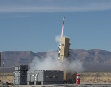 Lockheed Martin successfully conducts flight test of miniature Hit-to-Kill missile