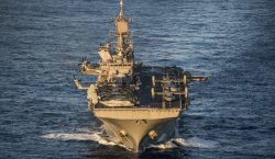 U.S. Navy awards BAE Systems $54 million to modernize USS America and USS Cape St. Georg
