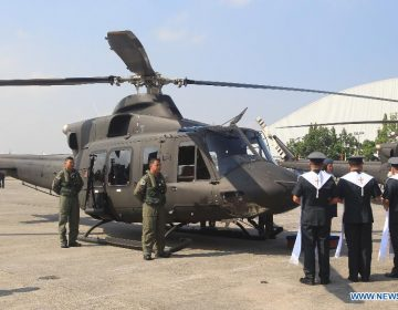Philippine Air Force orders 16 Bell 412EPI helicopters