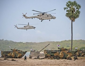 Thai-ROK-U.S. amphibious force conducts beach assault during Cobra Gold 2018