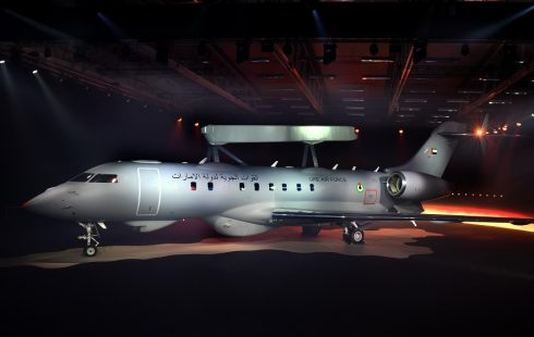 Saab rolls out  first GlobalEye AEW&C aircraft based on Global 6000