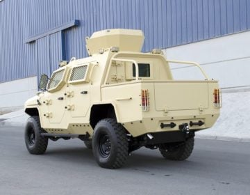 STREIT Group introduce new Python–SUT armored vehicle