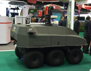 ST Engineering unveils new Jaeger 6 unmanned ground vehicle
