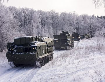 Photos: Russian air defence units learn to operate Buk-M3 SAM system