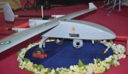 Nigeria unveils new Tsaigumi unmanned aerial vehicle