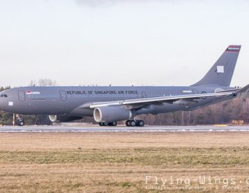First Airbus A330 MRTT for Republic of Singapore Air Force rolls out of paintshop