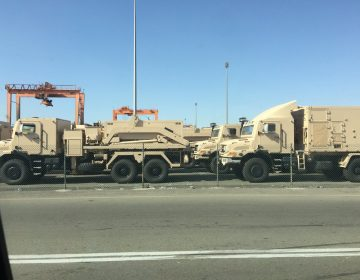 Saudi Arabia's land-based VL MICA air defence system spotted