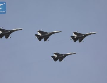 China sends recently acquired Russian-built fighter jets to South China Sea patrol