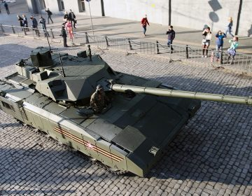 Russia ordered new generation of main battle tanks and infantry fighting vehicles