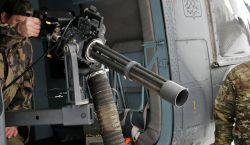 Photos: Life-fire training exercise for helicopter door gunners