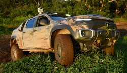U.S. Army's ZH2 fuel cell vehicle tested in jungle conditions