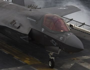 31st MEU F-35Bs join USS Wasp for historic deployment