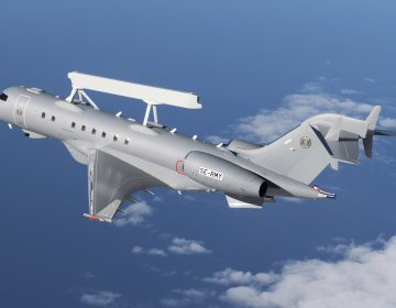 Saab successfully completed  first flight of the GlobalEye AEW&C aircraft