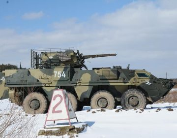 Photos: Ukrainian soldiers prepare for new weapons system