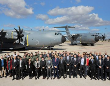 Airbus delivered two A400Ms to two different nations in one day