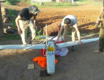 Russian drone carrying COMINT payload crashed in Syria