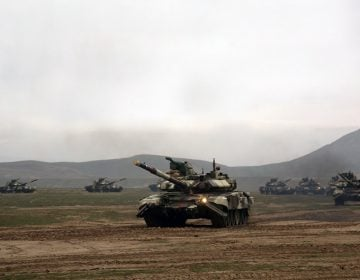 Azerbaijan Army begin large-scale drills involving  up to 250 tanks