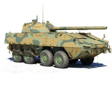 Russia to develop new wheeled tank based on Bumerang platform