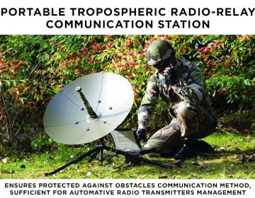 Secure unbroken communication for the military in all conditions