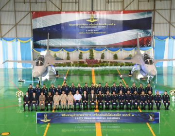 Thailand commissions first T-50TH lead-in fighter trainers