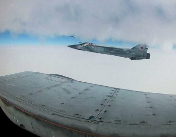 MiG-31BM and Su-27 fighters redeployed at operational airfields in the south of Russia