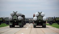 US President tells Putin and Assad to expect 'nice and new and smart' missiles